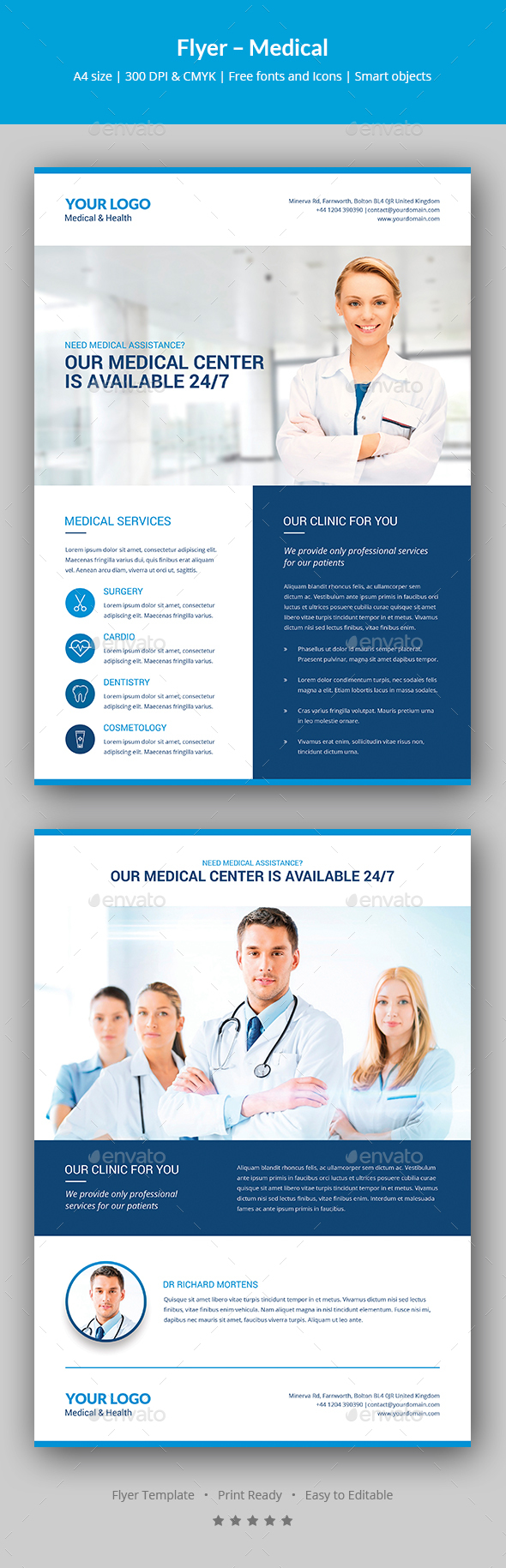 Flyer – Medical - Corporate Flyers