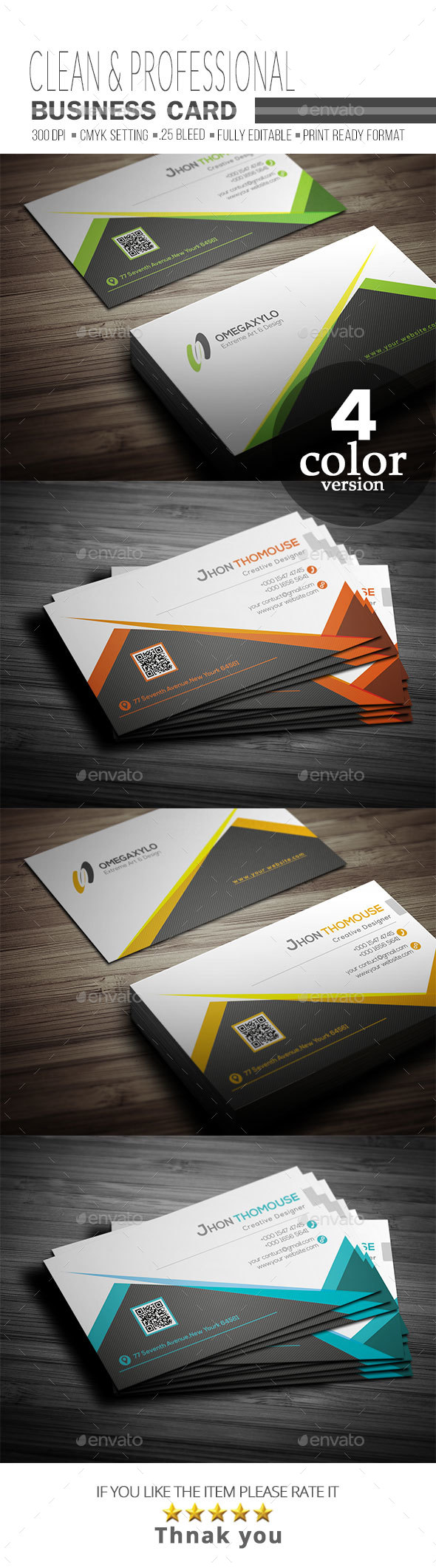 GraphicRiver Business Card 20754807