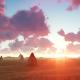Sunset in Desert - VideoHive Item for Sale