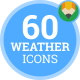 Icons Pack Weather Air-conditioner Climate Flat Animated Icons