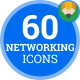 Icons Pack Goal Strategy Teamwork Networking Flat Animated Icons