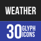 Weather Glyph Icons