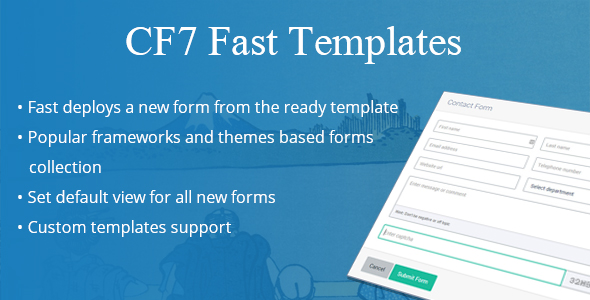 CF7 Fast Templates - CodeCanyon Item for Sale