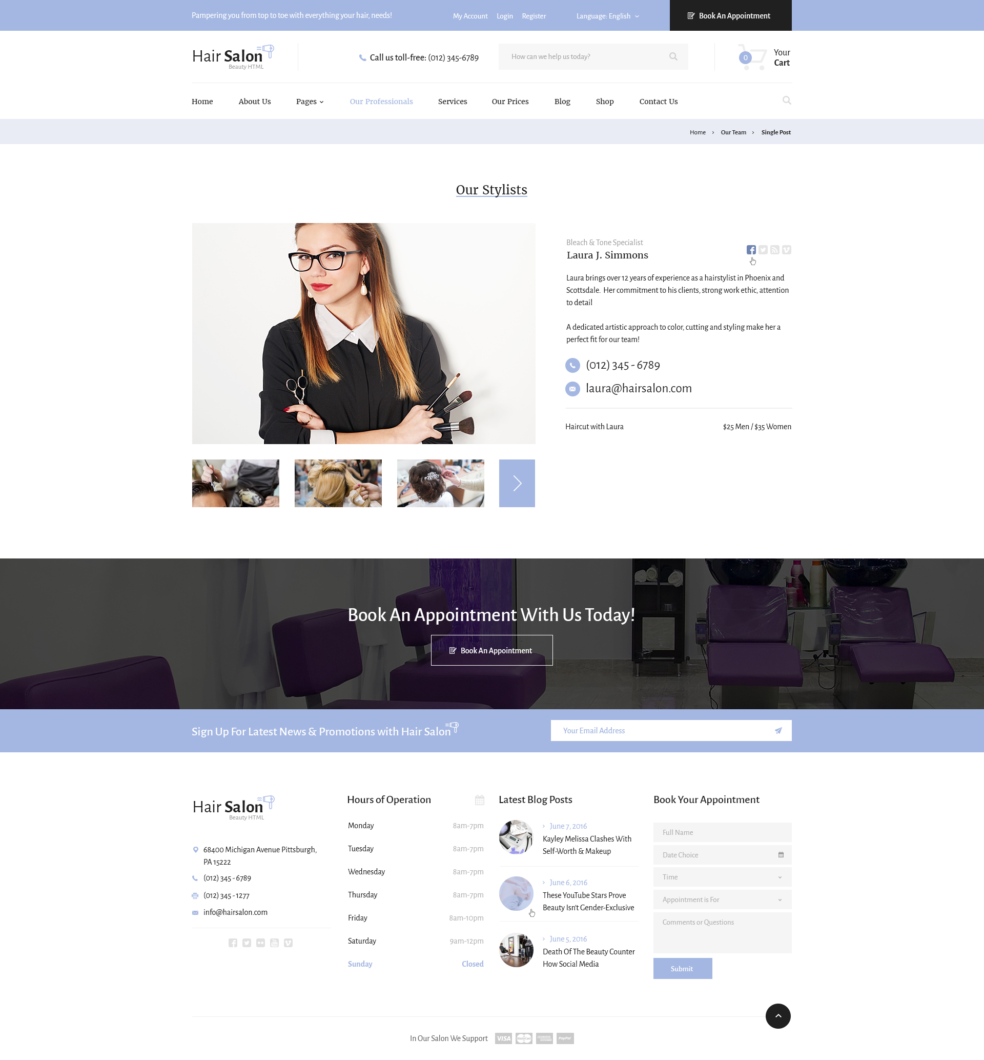 best hair stylist resume example livecareer professional hair