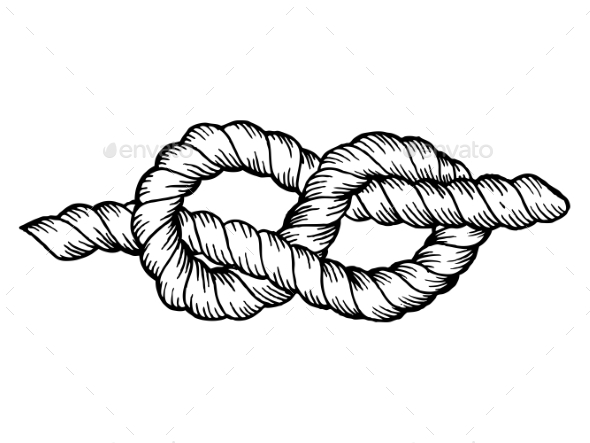 GraphicRiver Knot Engraving Vector Illustration 20769100