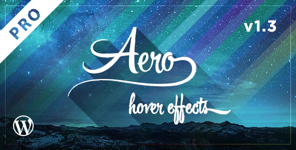 Aero Pro - CSS3 Hover Effects - CodeCanyon Item for Sale