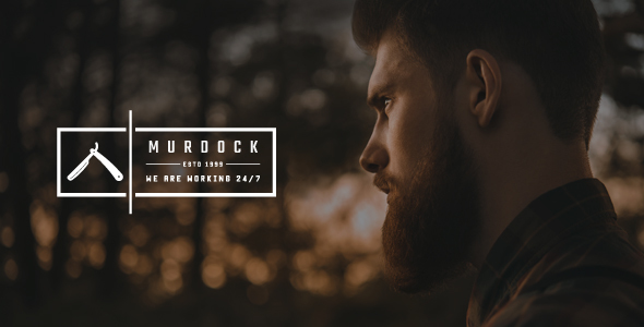 Murdock - Barbershop & Hair Salon WordPress Theme
