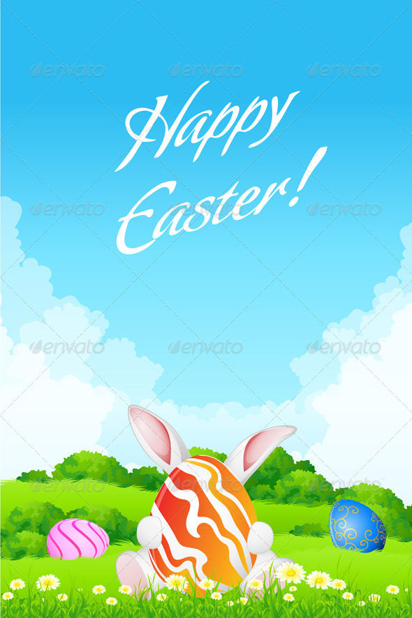 Easter Greeting Card - Seasons/Holidays Conceptual