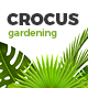 Garden and Landscape Design Company | Crocus Gardening  HTML Template - ThemeForest Item for Sale