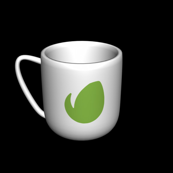 coffee cup 3D model - 3DOcean Item for Sale