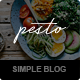 PestoCream - Simple Blog WordPress Theme - ThemeForest Item for Sale