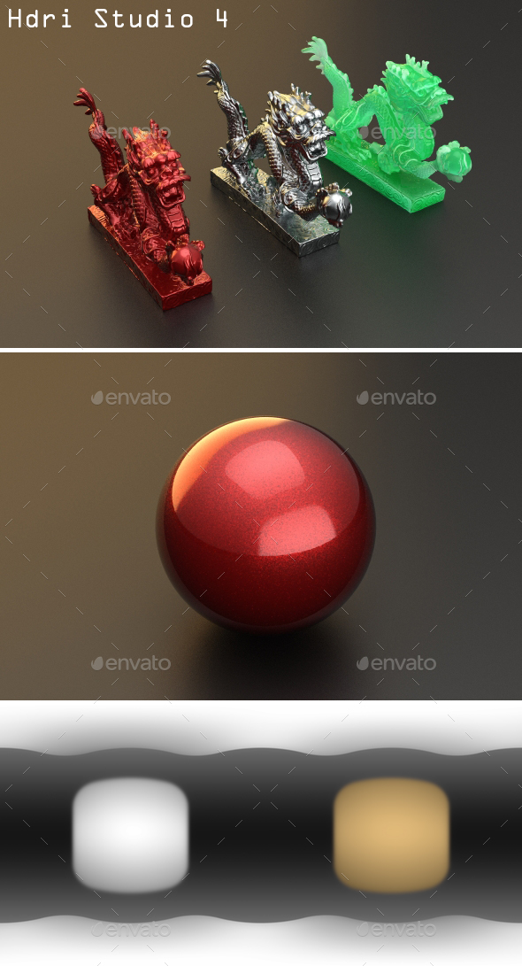 Hdri Studio 4 - 3DOcean Item for Sale