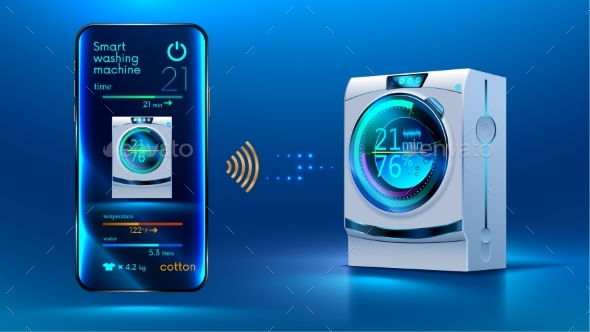 GraphicRiver Smart Washing Machine 20770155