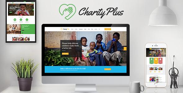 CharityPlus - Multipurpose Nonprofit Charity Organization Drupal 8 Template - Nonprofit Drupal