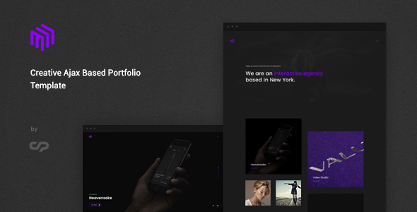 Cubez - Modern Portfolio Showcase Template - Creative Site Templates