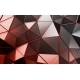 Abstract 3D Rendering of Polygonal Background