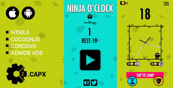 Ninja OClock - CodeCanyon Item for Sale