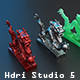 Hdri Studio 5 - 3DOcean Item for Sale