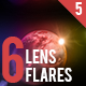 6 Pack Lens Flares 5 - GraphicRiver Item for Sale