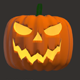 Halloween Pumpkin Rotation Animation