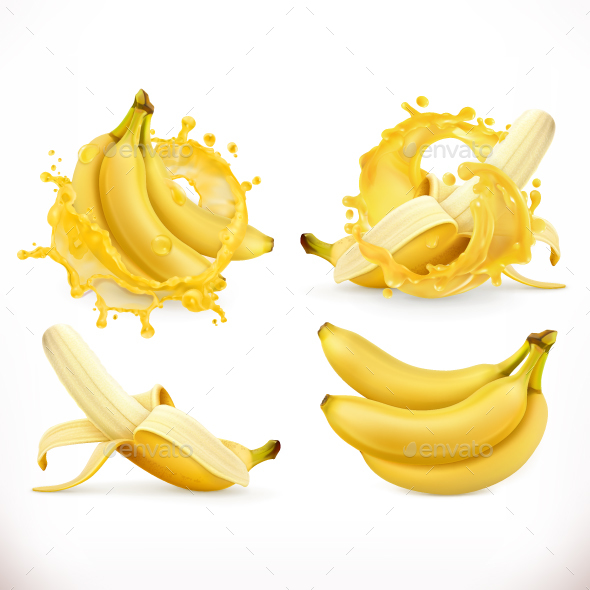 GraphicRiver Banana Juice 20770927