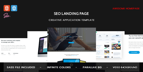 SEO - Digital Marketing HTML Template