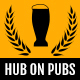 Hub On Pubs Bar and Restaurant PSD Template