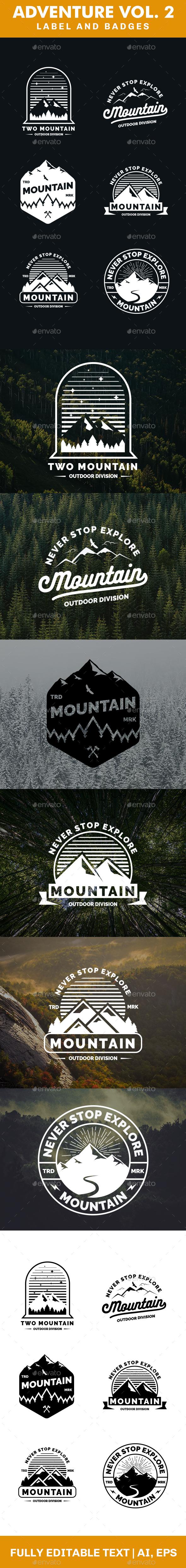 GraphicRiver Adventure Logo and Badges Vol 2 20771590