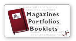 Magazines Portfolios Booklets