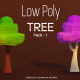 Low Poly Tree - Pack 1