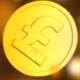 Golden Pound Coins