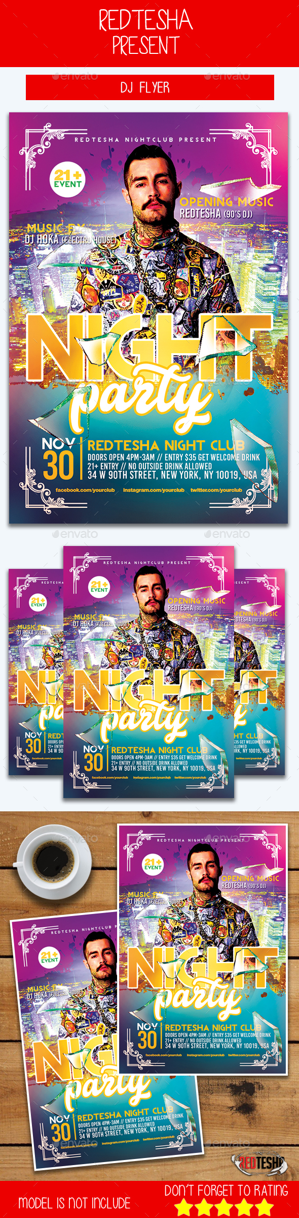GraphicRiver DJ Flyer 20772031