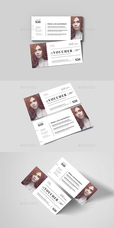 GraphicRiver Fashion Gift Voucher 20772076