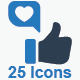 Feedback Icons - Blue Version