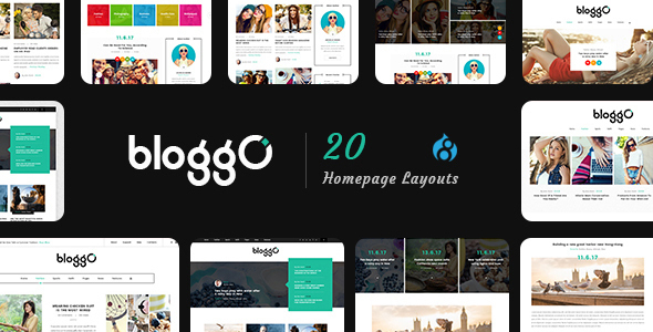 Bloggo - Multipurpose Blog Drupal 8 Theme
