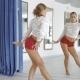 Sexual Woman Dancing in Studio - VideoHive Item for Sale