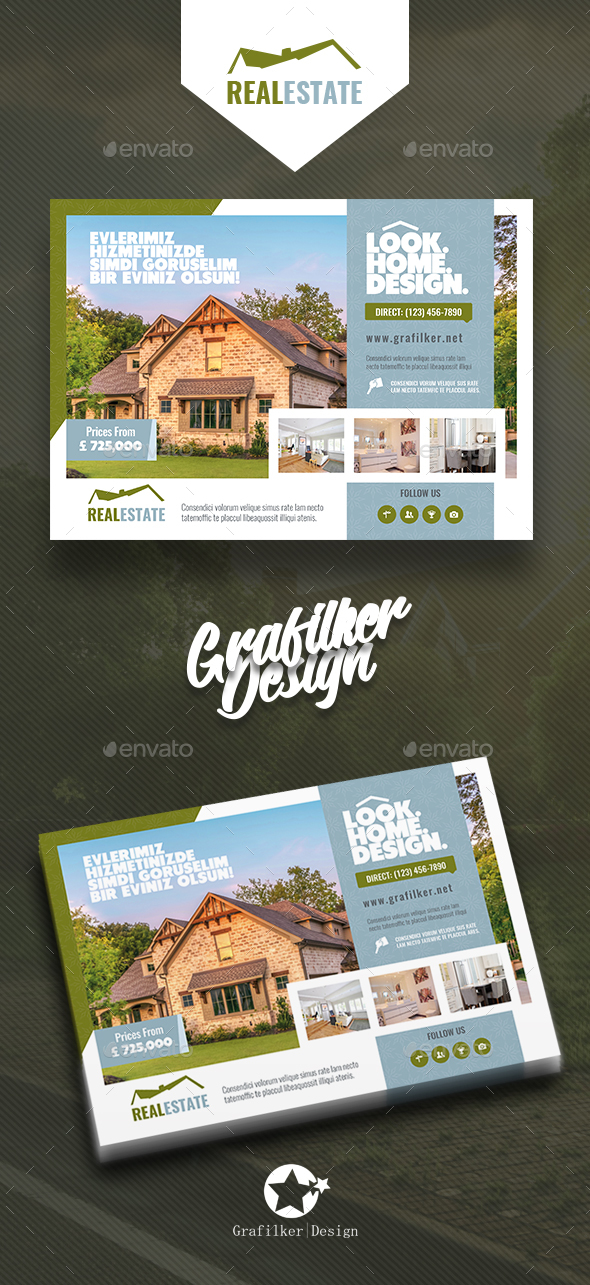 GraphicRiver Real Estate Flyer Templates 20772468