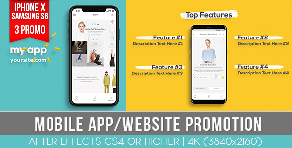 Mobile App Website Promotion