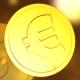 Golden Euro Coins