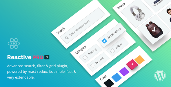 Reactive Pro - Advanced WordPress Search Filter & Grid - CodeCanyon Item for Sale