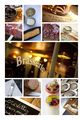 Images on a bistro collage