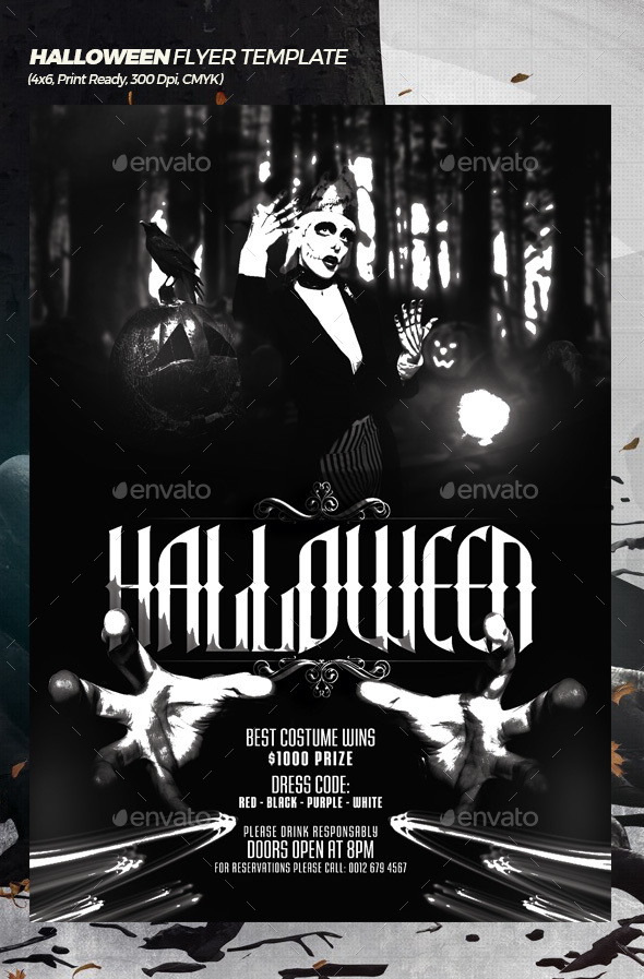 GraphicRiver Halloween Week Flyer Template 20773004
