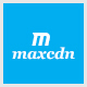Maxcdn One Page PSD Template