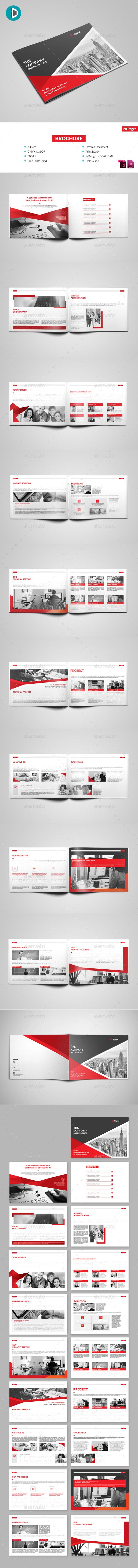 GraphicRiver Brochure 20773725