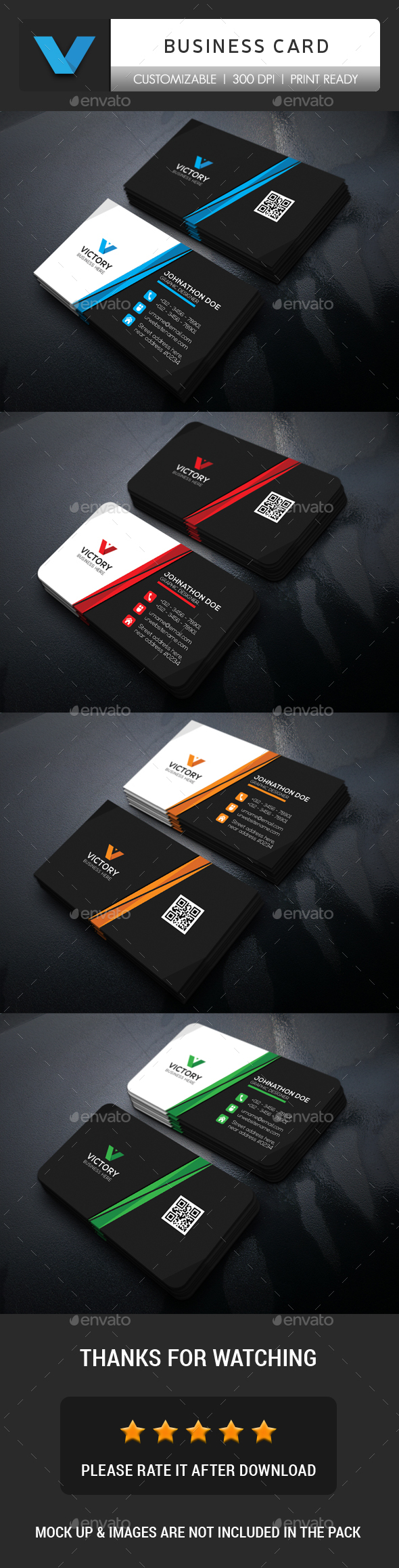 GraphicRiver Corporate Business Card 20773813