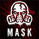 Mask - Horror Thriller Movie Poster - GraphicRiver Item for Sale
