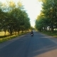 A Flight Over the Road a Motorcycle Ride - VideoHive Item for Sale