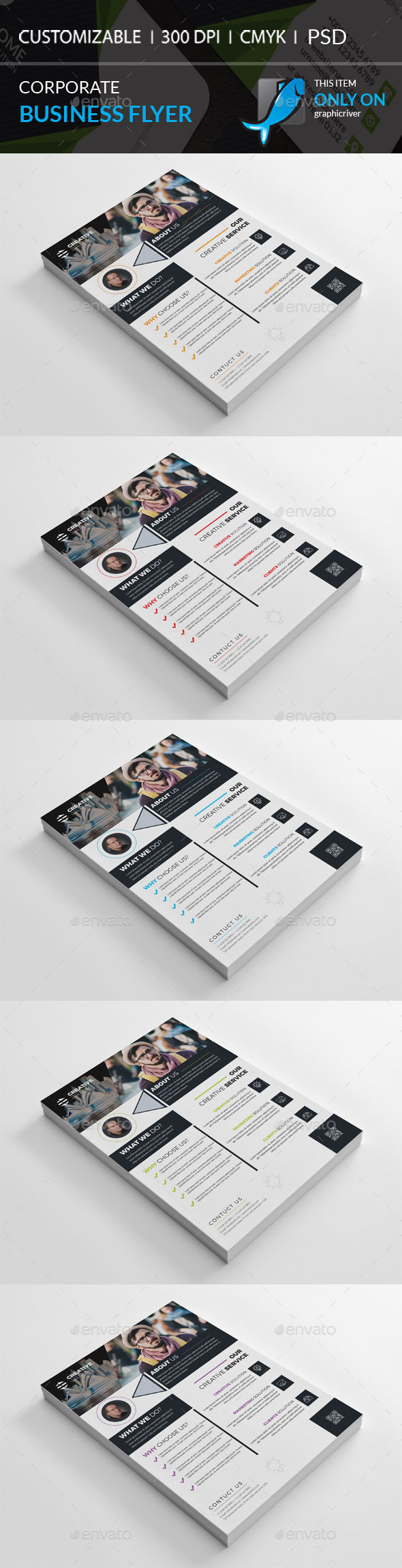 GraphicRiver Corporate Flyer 20774467