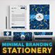 Minimal Branding Stationery - GraphicRiver Item for Sale