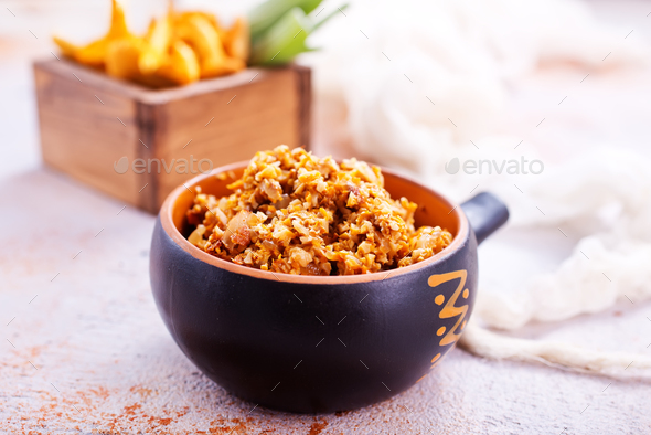 Mushroom caviar - Stock Photo - Images